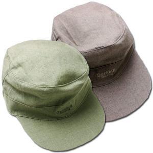 【あすつく_東海】いわゆるキャップ型の帽子です。とっても薄手の麻混素材は通気性が優れています。落ち着...