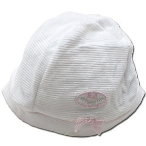アウトレット  訳有り 子供服 ベビー服 まるでヨーロッパの貴族 高級感あふれる上品で可愛いお帽子(濠Du)ピンク|adorable