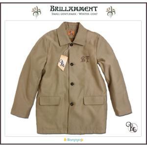 英国紳士気品が薫る 中綿暖かブランド刺繍入りフォーマルコート(JPBt) 150cm|adorable