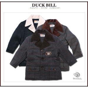 セール 英国小紳士 コーデュロイ襟のフォーマル ツイードジャケット ハーフコート 子供服 85-110cm