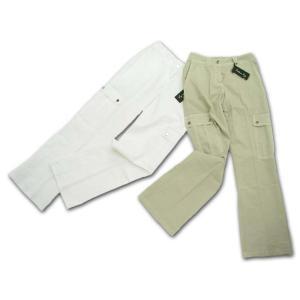 母の日 ギフト イタリア製 大きなポケットがポイント カジュアルラインパンツ(伊Re)レディース 7〜14号|adorable