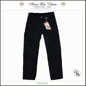 子ども服 柔らかな手触りのポケットいっぱいカーゴパンツ(JPBt)115-160cm 子供服男の子 スレートグレイ|adorable