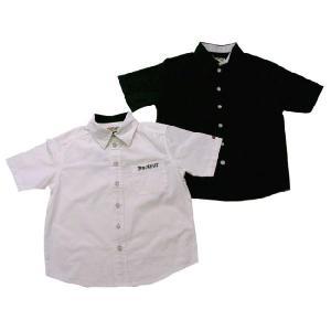 半袖シャツ 子供服 春夏 セール ウィリアム少年 ポイント小技のシンプル(濠Du) 輸入ブランドこども服 100cm|adorable