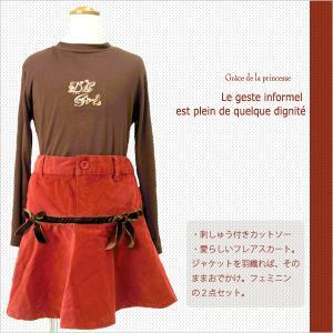子ども服 送料無料 洗練されたインポート子供服ブランドコーディネイト女の子110-150cm No.143|adorable