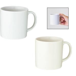 【陶器マグ/フルカラー印刷/マグカップ/格安/ノベルティ/小ロット】 陶器マグ ストレート(S)|ads