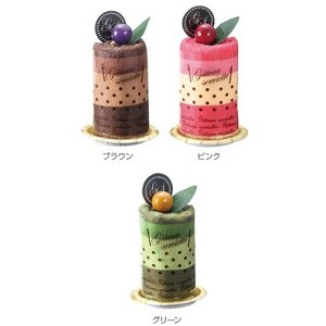 【ケーキタオル/プチギフト/かわいい雑貨/格安/ノベルティ】 ムースケーキタオル|ads