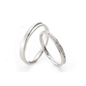 結婚指輪 マリッジリング プラチナ  ディアレスト  Printemps(プランタン) マリッジリングペアセット pt900|adtokyo