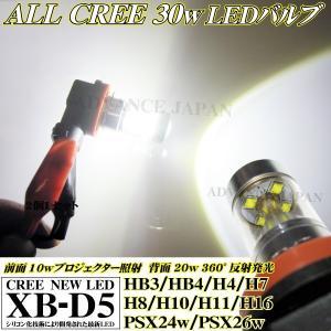 LEDフォグランプ HB3 HB4 H4 H7 H8 H10 H11 H16 PSX24w PSX26w CREE 30w ledフォグ ホワイト 2個 6000k ライト デイライト LEDバルブ 50w 80w 偽物注意 WX9G