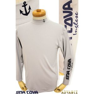 ●こちらは、シナコバ・メンズの定番商品の長袖アンダーシャツです。 ●胸元にイカリモチーフ、袖にシナコ...