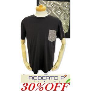 ROBERTO P LUXURY 2018新作春夏 Tシャツ 半袖 メンズ 1298-2554-20|advance-selectshops