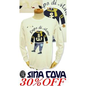 ●こちらは、シナコバメンズ2018秋冬新作商品の長袖Tシャツです。 ●キャプテンのジーパンがお洒落す...