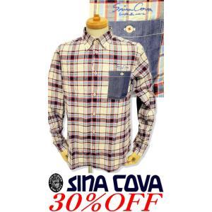 ●こちらは、シナコバメンズ2018秋冬新作商品の長袖シャツです。 ●デニムのポケットがゆるカジュアル...