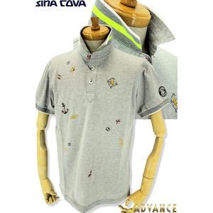 ●こちらは、シナコバメンズ2019春夏新作商品の半袖ポロシャツです。 ●夏らしいモチーフのトビ柄でお...