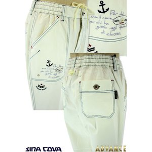 ●こちらの商品は、シナコバ・メンズの2019春夏新作商品のマリンパンツです。 ●パンツは楽じゃなきゃ...