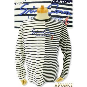 ●こちらは、シナコバメンズ2019春夏新作商品の長袖Tシャツです。 ●海を感じる爽やかなボーダー柄に...