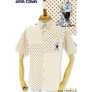 ●こちらは、シナコバメンズ2019春夏新作商品の半袖シャツです。 ●今年イチオシで早くも大人気の水玉...