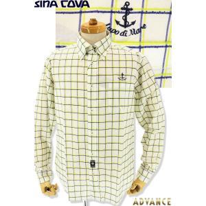 ●こちらは、シナコバメンズ2019春夏新作商品の長袖シャツです。 ●二色カラーで立体的なブロックチェ...