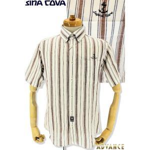●こちらは、シナコバメンズ2019春夏新作商品の半袖シャツです。 ●夏に着たくなるのは綿麻で味のある...