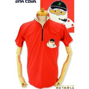 ●こちらは、シナコバメンズ2019春夏新作商品の半袖ポロシャツです。 ●衿裏がドット柄でさりげなく、...