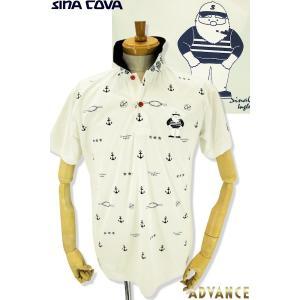 ●こちらは、シナコバメンズ2019春夏新作商品の半袖ポロシャツです。 ●夏のリゾートゴルフにに持って...