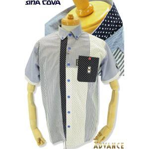 ●こちらは、シナコバメンズ2019春夏新作商品の半袖シャツです。 ●今年イチオシのドット柄がとっても...