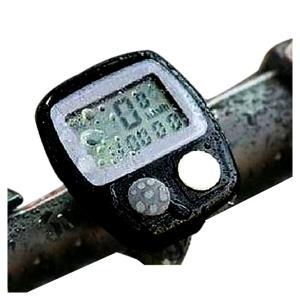 自転車用品 サイクルコンピューター 高性能8モード8〜29インチ対応 走行距離 積算距離 走行距離 最高速度 平均速度 走行時間 時計|advanceworks2008