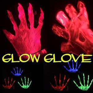 ケミカル発光 手袋 夜間イベントやハロウィン祭りで目立つ光るグローブ|advanceworks2008