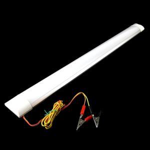 60cm幅広タイプバーライト 省電力タイプ 10wアルミフレーム 直管灯12V ワニグチクリップ 6000kSMD球 72LED搭載 得トク2WEEKS0410|advanceworks2008