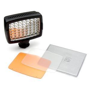 56LEDカメラビデオライト 暗所夜間の撮影もこれでバッチリ 補助光に照度調節可能 フィルター2種類付撮影ライト|advanceworks2008