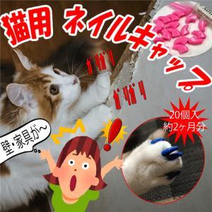 ネコ用 ネイルキャップ 猫の爪から壁を守る ねこのツメから家具を守る 得トク2WEEKS0410|advanceworks2008