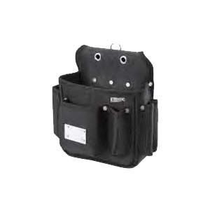 (送料無料)基陽 超軽量ウエストバッグ 内ポケット&磁石付 232K ブラック|advanceworks2008