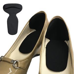 (送料無料)靴に貼るだけ くつズレん 黒|advanceworks2008
