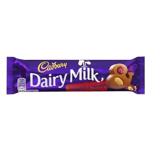 (送料無料)(代引き不可)キャドバリー デイリーミルクチョコレート フルーツ&ナッツ 50g×24本入り|advanceworks2008