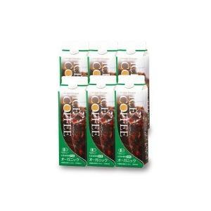 (送料無料)(代引き不可)2739 セイコー珈琲 オーガニックアイスコーヒー(無糖) 6本セット KL-40|advanceworks2008