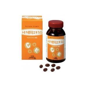 (送料無料)緑応科学 トルラ酵母エキスG マルチビタミン配合 栄養機能食品 180球 (約30日分) advanceworks2008
