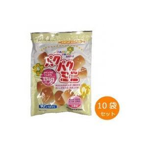 (送料無料)(代引き不可)カネ増製菓 パクパクミニ 105g×10袋セット|advanceworks2008