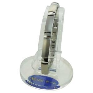 (送料無料)MARE(マーレ) ゲルマニウムブレスレット PT/IP ミラー/マット 173L (19.85cm) H9392-01|advanceworks2008