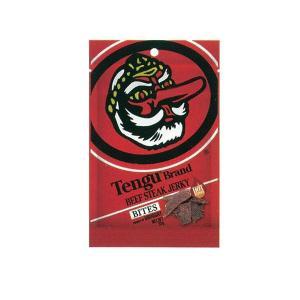 (送料無料)(代引き不可)2800022 テング ビーフステーキジャーキー バイツ ホット 35g×24袋|advanceworks2008