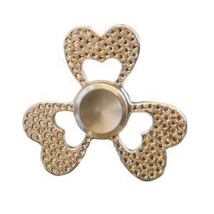 (送料無料)HANDSPINNERS DiamondSpinner(ダイヤモンドスピナー) ハンドスピナー ハートモデル シルバー|advanceworks2008