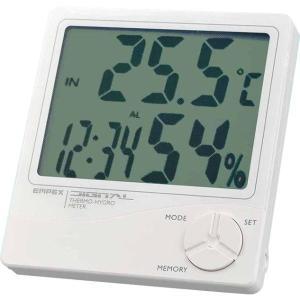(送料無料)EMPEX(エンペックス気象計) デカデジ デジタル温湿度計(時計/カレンダー付き) TD-8240|advanceworks2008