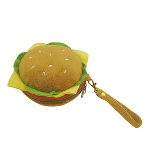 (送料無料)インテリアカンパニー BREAD SERIES ポーチ ハンバーガー ILF-9331|advanceworks2008