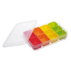 作り置きなどを小分けにしてそのまま冷凍保存できる容器です。カップごと電子レンジで温めてお弁当に詰めら...