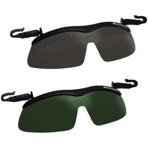 (送料無料)(代引き不可)帽子につける偏光サングラス キャップクリップ サンシェード|advanceworks2008