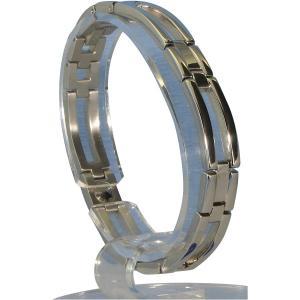 (送料無料)MARE(マーレ) ゲルマニウム4個付ブレスレット PT/IP ミラー 113G L (20.5cm) H1126-05L|advanceworks2008
