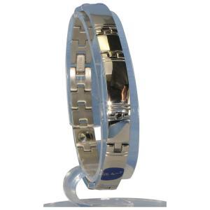 (送料無料)MARE(マーレ) ゲルマニウム5個付ブレスレット PT/IP ミラー 116G L (20.5cm) H1103-32L|advanceworks2008