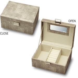 (送料無料)ユーパワー Noble Leather ノーブル レザー ジュエリーボックス Mサイズ ロハスブラウン NB-03501|advanceworks2008