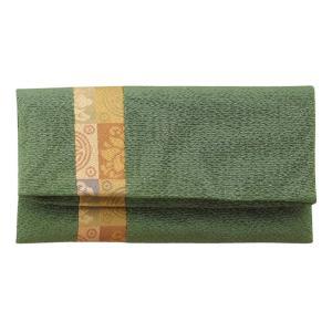 (送料無料)正絹 名物裂 タテハギ付 念珠袋 遠州緞子/緑 802-2|advanceworks2008