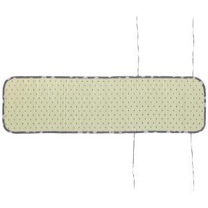 (送料無料)い草座椅子カバー 涼夏(りょうか) 約W44×D160cm ブルー 81845712|advanceworks2008