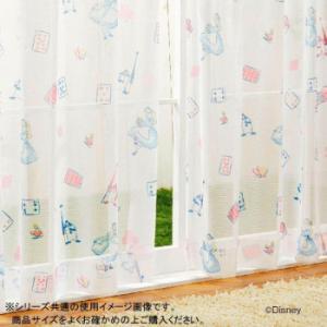 (送料無料)ディズニー アリス レースカーテン2枚セット 100×176cm SB-524-D|advanceworks2008