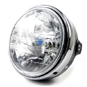バイク用 丸型ヘッドライト マルチリフレクター 本田純正タイプ 交換用 バイク HID LED対応 汎用 200mm|advanceworks2008